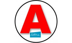 stickers / autocollant A de l'Essonne