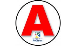 stickers / autocollant A Réunion