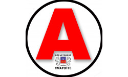 stickers / autocollant A Mayotte