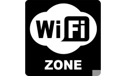 stickers zone WIFI