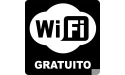 stickers WIFI gratuito
