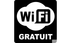 stickers WIFI gratuit