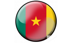 Stickers / autocollant drapeau Djibou