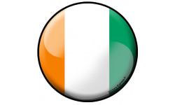 Stickers / autocollant drapeau Italien
