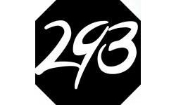 Sticker / autocollant : numéroderue293 - architecte