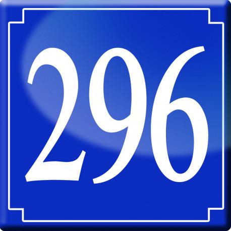 numéro de rue 296