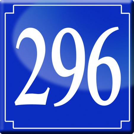 Sticker / autocollant : numéroderue296 - classique