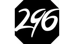 Sticker / autocollant : numéroderue296 - architecte