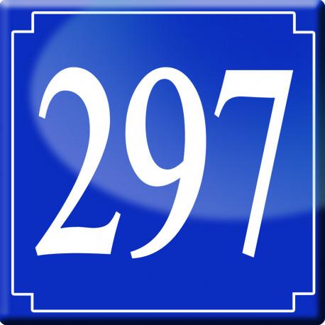 numéro de rue 297