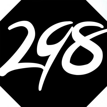 Sticker / autocollant : numéroderue298 - architecte
