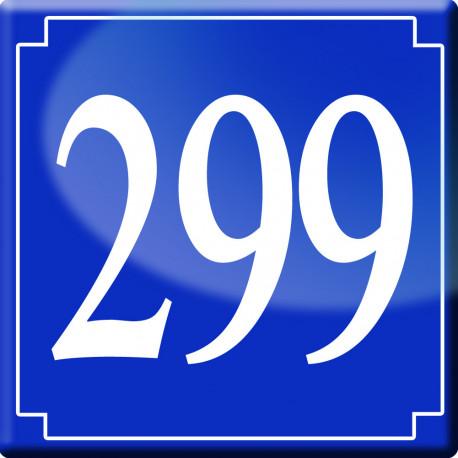 numéro de rue 299