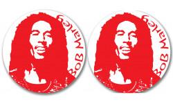 stickers / autocollants Bob marley 2