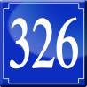 Sticker / autocollant : numéroderue326 - classique