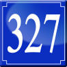 Sticker / autocollant : numéroderue327 - classique