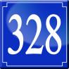 Sticker / autocollant : numéroderue328 - classique