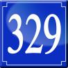 Sticker / autocollant : numéroderue329 - classique