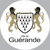 Sticker / autocollant : Guérande - 15cm