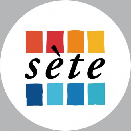 Sticker / autocollant : Sète - 20cm