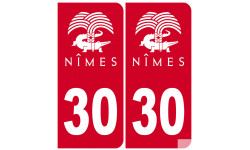 immatriculation ville de Nîmes