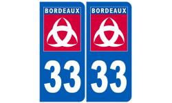 immatriculation ville de Bordeaux