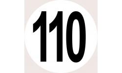 Disques de limitation de vitesse 110