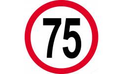 75km/h rouge