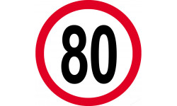 80km/h rouge