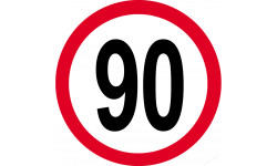 90km/h rouge
