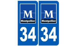 numéro immatriculation 34 Montpellier