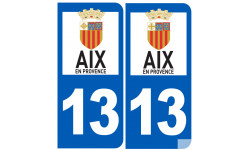 numéro immatriculation 13 Aix