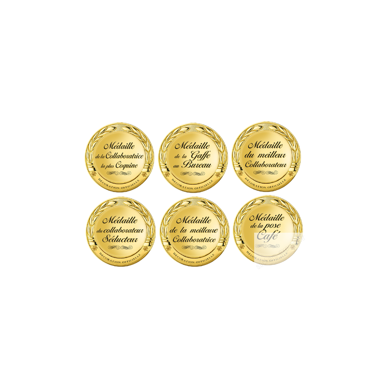 autocollants kit medaille au bureau 2. Black Bedroom Furniture Sets. Home Design Ideas