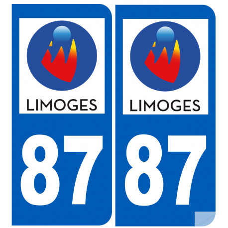 immatriculation 87 Limoges