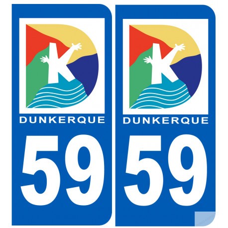 immatriculation 59 Dunkerque