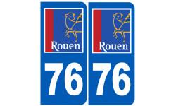 immatriculation 76 Rouen