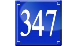 Sticker / autocollant : numéroderue347 - classique