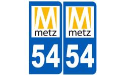 immatriculation 54 Metz