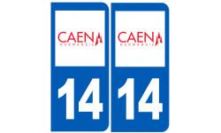 immatriculation 14 Caen