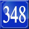 Sticker / autocollant : numéroderue348 - classique