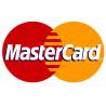 Sticker / autocollant : Paiement par carte MasterCard accepté - 20x12.3cm