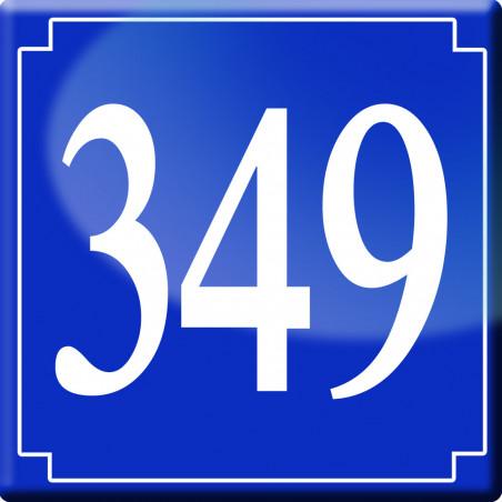 Sticker / autocollant : numéroderue349 - classique