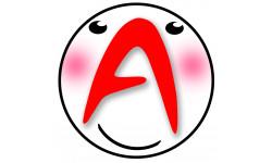 Sticker / autocollant : A t1