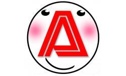 Sticker / autocollant : A t6 -15cm