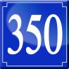 Sticker / autocollant : numéroderue350 - classique