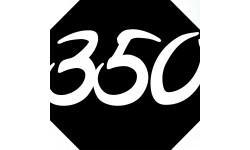 Sticker / autocollant : numéroderue350 - architecte