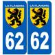 62 immatriculation Flandre