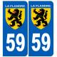 59 immatriculation Flandre