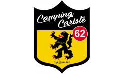 Sticker / autocollant : Camping car Flandre 62 - 10x7.5cm