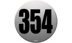 numéroderue354 - gris brossé