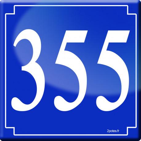 numéroderue355 classique - 10cm