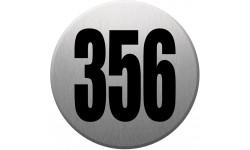 numéroderue356 gris brossé